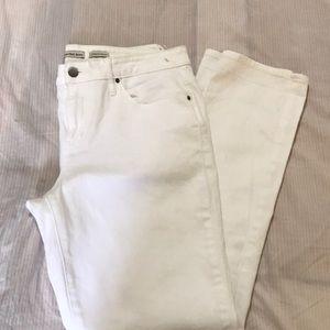 Calvin Klein White Jeans - size 14